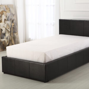 Black 3ft Ottoman Bed - LM Furnishings