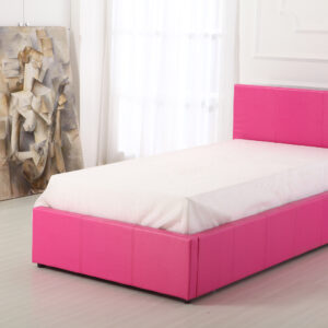 Pink 3ft Ottoman Bed - LM Furnishings