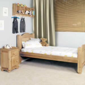 Amelie Oak Childrens (Standard Sized 3') Single Bed - LM Furnishings