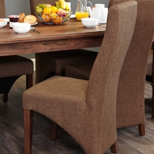 Full Back Upholstered Dining Chair (PACK OF TWO) - LM Furnishings
