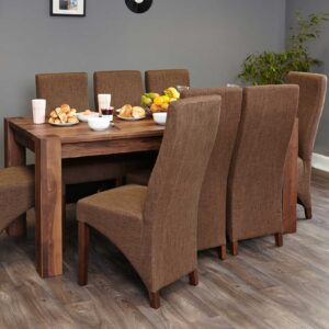Walnut Large Dining Table (Seats 6-8) - LM Furnishings
