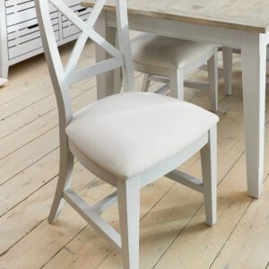 Baumhaus Signature Grey Dining Chair (Pack of Two) - LM Furnishings