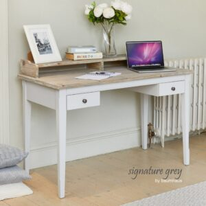 Baumhaus Signature Grey Desk / Dressing Table - LM Furnishings
