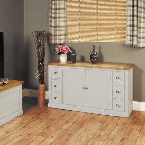 Chadwick Small Sideboard With Six Drawers - LM Furnishings