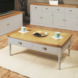 Chadwick Four Drawer Coffee Table - LM Furnishings
