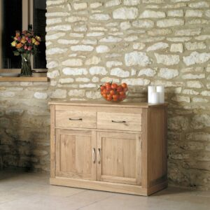 Mobel Oak Small Sideboard - LM Furnishings