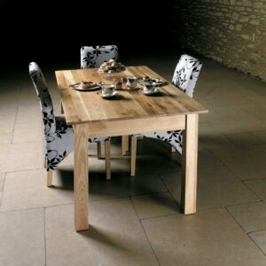 Mobel Oak 150cm Dining Table (4/6 Seater) - LM Furnishings