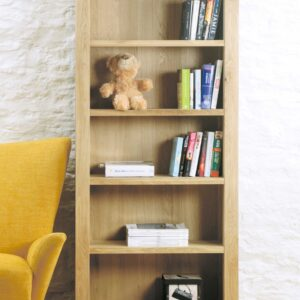 Aston Oak Large Open Bookcase - LM Furnishings