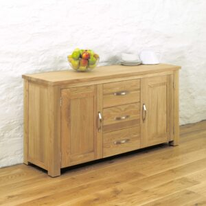 Aston Oak Large Sideboard - LM Furnishings