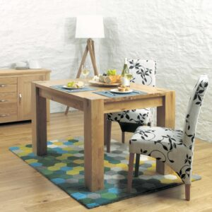 Aston Oak Dining Table (4 Seater) - LM Furnishings