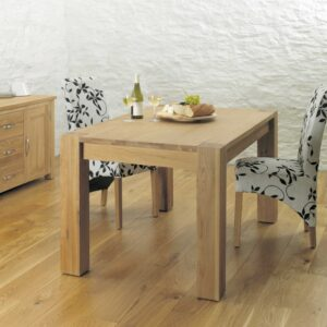 Aston Oak Dining Table (4-6 Seater) - LM Furnishings