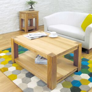 Aston Oak Coffee Table Medium - LM Furnishings