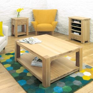 Aston Oak Coffee Table Large - LM Furnishings