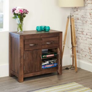 Mayan Walnut Small Sideboard - LM Furnishings