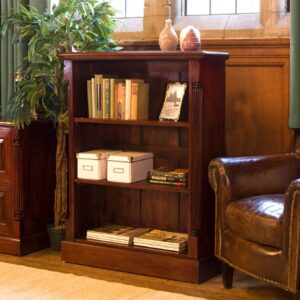La Roque Low Open Bookcase - LM Furnishings
