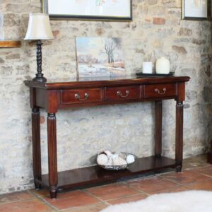 La Roque Console / Hall Table (With Drawers) - LM Furnishings