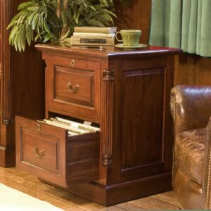 La Roque Two Drawer Filing Cabinet - LM Furnishings