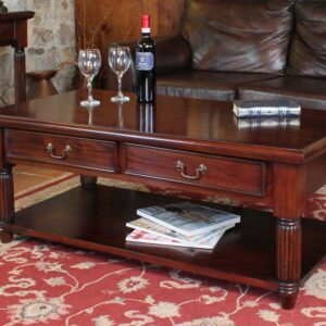 La Roque Coffee Table With Drawers - LM Furnishings