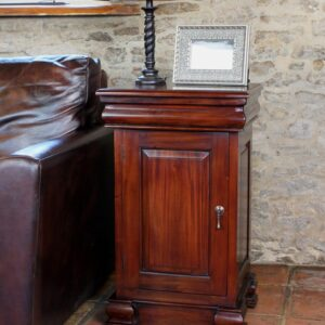 La Roque Mahogany Lamp Table / Pot Cupboard