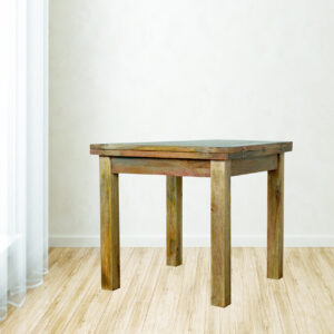 Extendable Butterfly Dining Table with Straight Legs - LM Furnishings