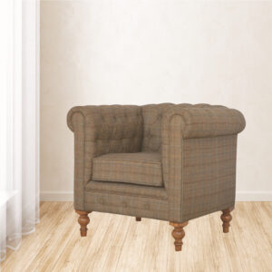 Chesterfield Single Seater Armchair - LM Furnishings