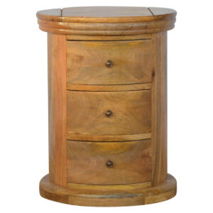 Country Style Petite Slim Drawer Chest with 3 Drawers - LM Furnishings