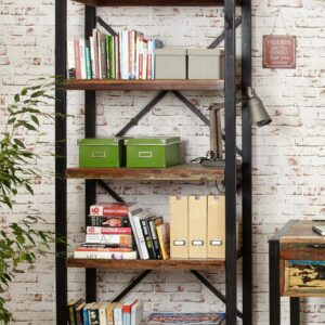 Urban Chic Large Open Bookcase - LM Furnishings