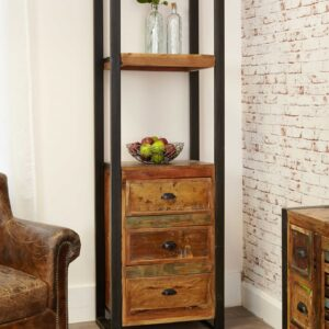 Urban Chic Alcove Bookcase (with drawers) - LM Furnishings
