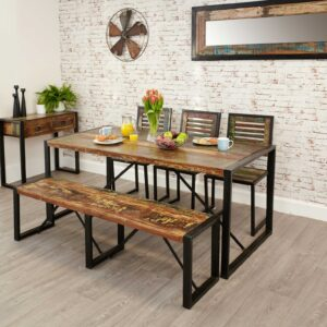 Urban Chic Dining Table Large - LM Furnishings
