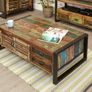 Kuba Coffee Table / Storage Trunk - LM Furnishings