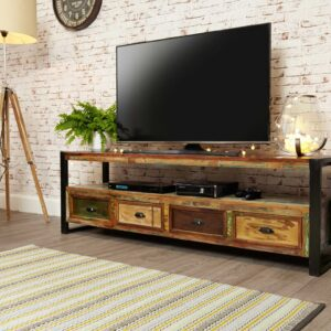 Urban Chic Open Widescreen Television Cabinet - LM Furnishings