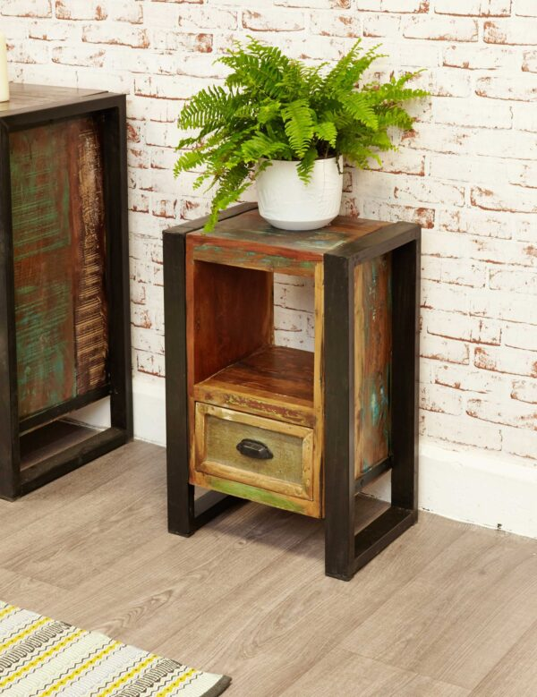 Urban Chic Lamp Table / Bedside Cabinet - LM Furnishings