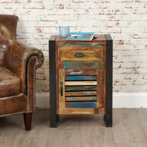 Urban Chic 1 Door 1 Drawer Lamp Table - LM Furnishings