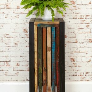 Urban Chic Tall Plant Stand/Lamp Table - LM Furnishings