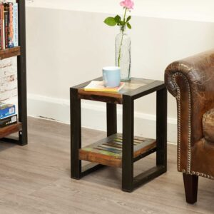 Urban Chic Low Plant Stand / Lamp table - LM Furnishings