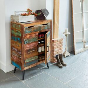 Coastal Chic Shoe Cupboard - LM Furnishings