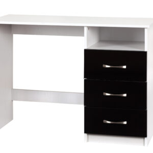 Black/White Dressing Table - LM Furnishings