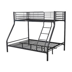 Black Metal Triple Sleeper - LM Furnishings