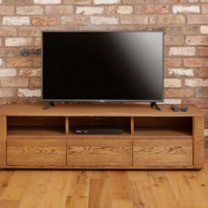 Olten - Widescreen TV Cabinet with Three Drawers - LM Furnishings