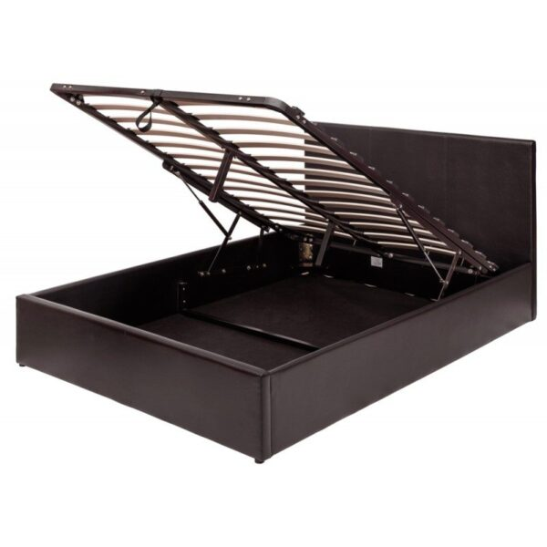 Brown 5ft Ottoman Bed